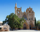 St. Nicholas Cathedral (Lala Mustafa Mosque), Famagusta, Nothern — Stock Photo
