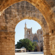 St. Nicholas Cathedral (Lala Mustafa Mosque), Famagusta, Nothern — Stock Photo #39096547