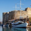 Stock Photo: Fortress in Kyreni(Girne), North Cyprus