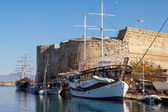 Fortress in Kyrenia (Girne), North Cyprus — Stock Photo