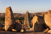 Virupaksha Temple, Hampi, Karnataka, India — Stock Photo
