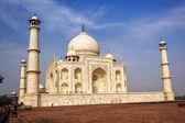Taj mahal, india — Foto de Stock