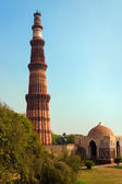Qutub Minar , Delhi, India — Stock Photo