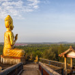 Abandoned Buddhist temple complex in Thailand — Stock Photo