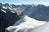 Alps travelling — Stock Photo