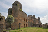 Fasil Ghebbi castle, Gondar, Ethiopia — Stock Photo