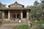 Debre Birhan Selassie Church, Ethiopia — Stock Photo
