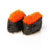 Tobiko sushi — Stock Photo