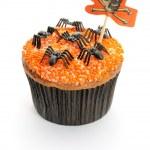 Halloween cupcake — Stockfoto