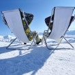 Stock Photo: apres ski at mountains