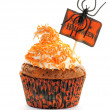Royalty-Free Stock Photo: Halloween cupcake