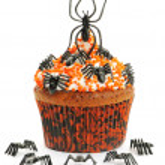 Halloween cupcake — Stock Photo