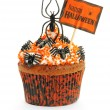 Halloween cupcake — Stock Photo #13259036
