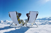 Apres ski at mountains — Stockfoto
