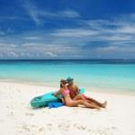 Couple on a beach — Stock Photo #13707662
