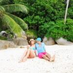 Couple on a beach — Stock Photo #13879830