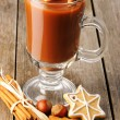hot chocolate&quot — Stock Photo #14106220