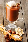 Cioccolata calda — Foto Stock