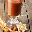 hot chocolate&quot — Stock Photo #14434085