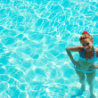 Girl in swimming pool — Stock Photo #1718147