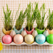 colored easter eggs — Stock Photo #19799383