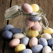 colored easter eggs — Stock Photo #19805141