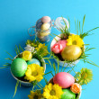 colored easter eggs — Stock Photo #20380455