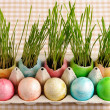 colored easter eggs — Stock Photo #20380683