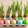 colored easter eggs — Stock Photo #21040397
