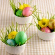 Colored easter eggs — Stock Photo #21040735