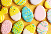 Easter homemade gingerbread cookie — Stockfoto