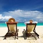 Couple on a beach — Stock Photo #22493537
