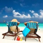Couple on a beach — Stock Photo #22493989