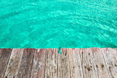 Jetty by the sea — Stock Photo