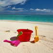 Beach toys - Stock Photo
