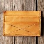 Handmade leather product — Stock Photo