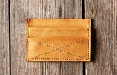 Handmade leather product — Stock Photo
