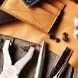 Leather crafting tools — Stock Photo #27621597