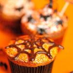 Halloween cupcakes — Stock Photo #28039669