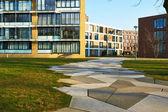Funenpark bostadsområde i amsterdam — Stockfoto