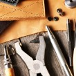 Leather crafting tools — Stock Photo #28473751