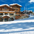 Mountain ski resort — Stockfoto
