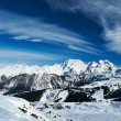 Mountains with snow in winter — Stock Photo #32094737