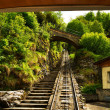 Stock Photo: Funicular rail near Reichenbach
