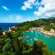 Portofino village on Ligurian coast, Italy — Stock Photo
