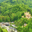 Landscape with castle of Hohenschwangau in Germany — Stock Photo #32543137