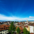 Skyline of Lausanne — Stock Photo