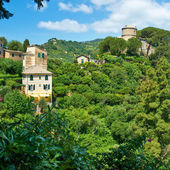 Castello Brown near Portofino village — Stock Photo
