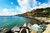 Costa da ligúria na itália — Foto Stock