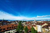 Skyline of Lausanne — Foto de Stock